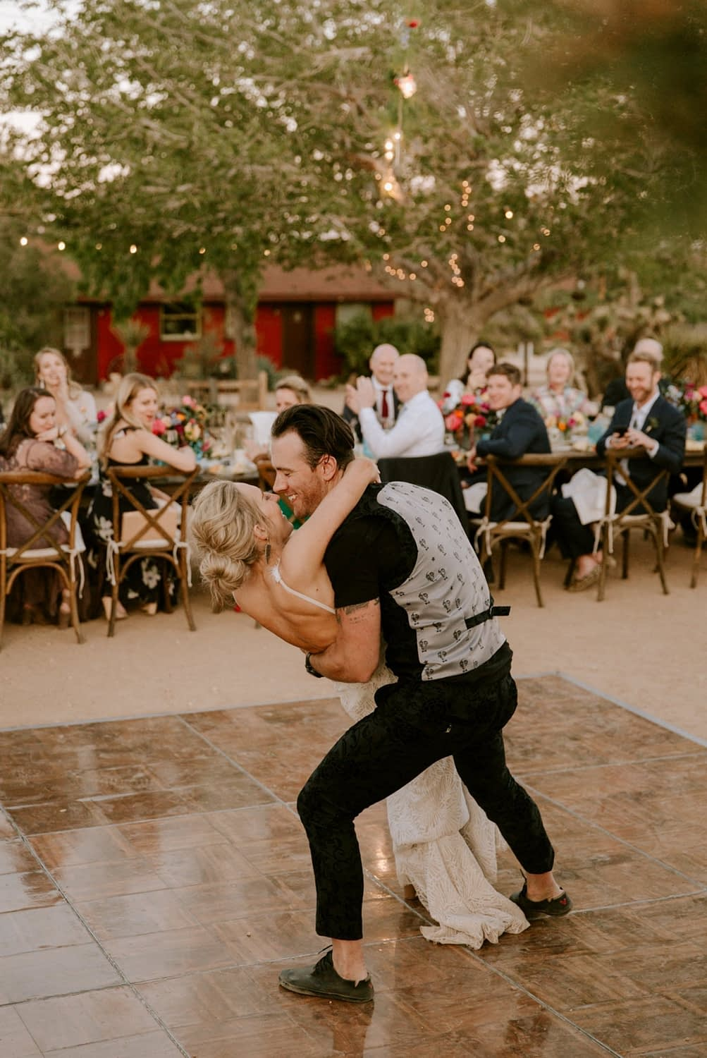 Pioneertown wedding Paige Nelson Photography