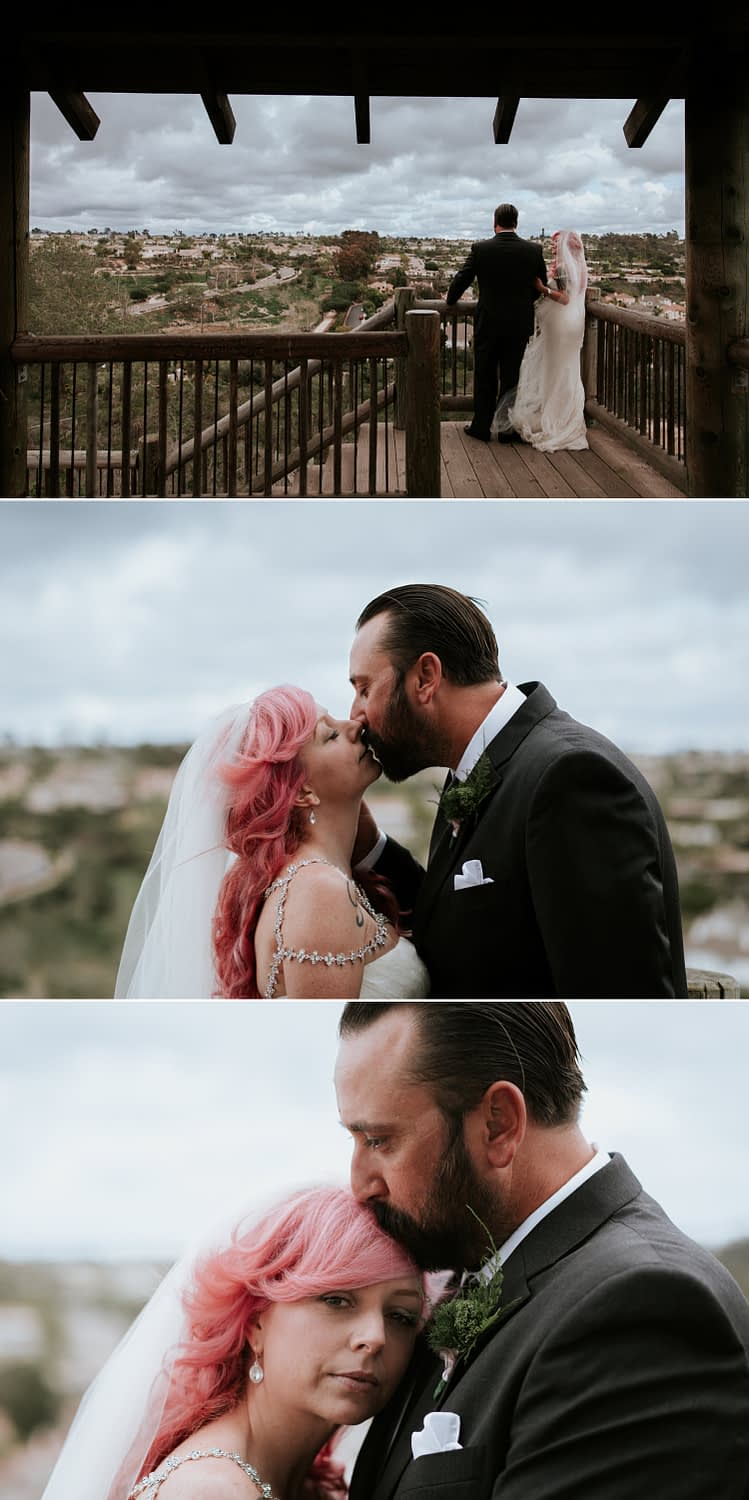 Intimate wedding at San Diego Botanic Garden by Paige Nelson