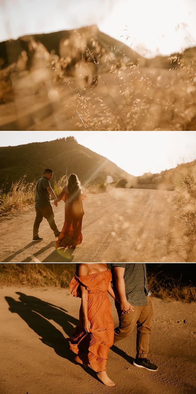 Pacific Coast Highway engagement session in Big Sur, California by Paige Nelson