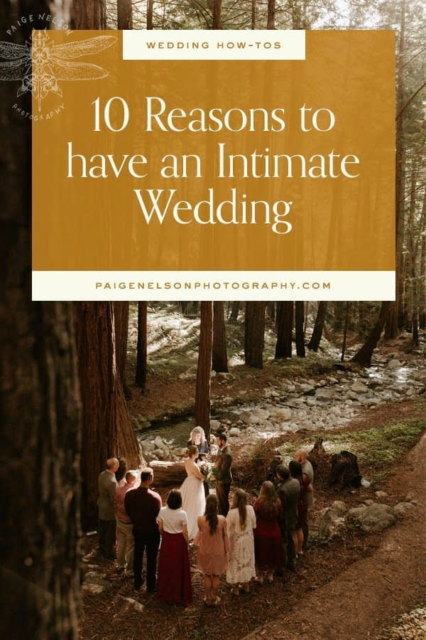 10 Reasons to Have an Intimate Wedding