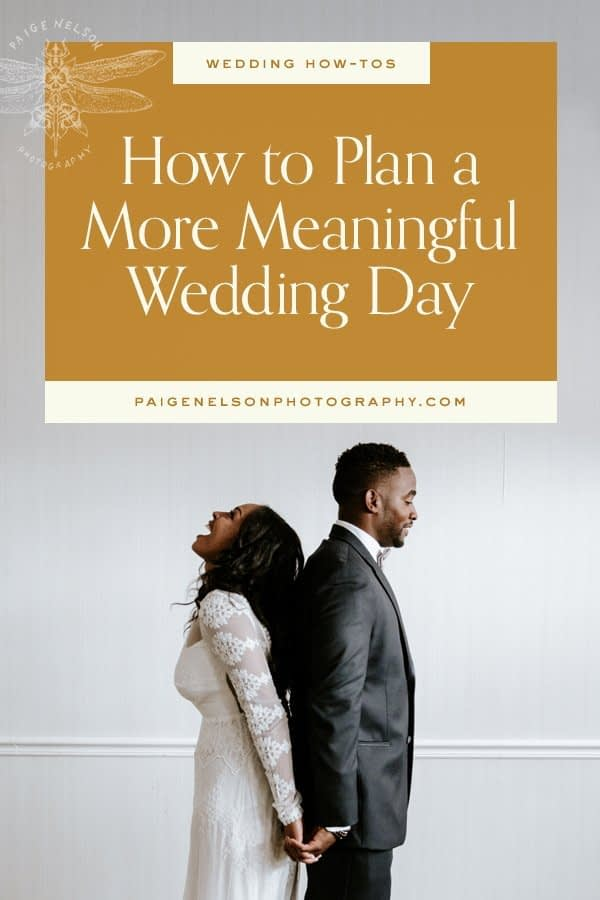 10 Meaningful Wedding Day Ideas